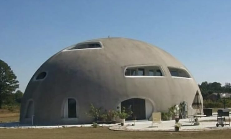 Monolithic Dome House